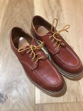 red wing moc toe shoes size 9