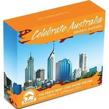 2011 Celebrate Australia - Western Australia 1oz Silver Proof $1 Coin ANDA
