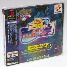 Dance Dance Revolution DDR 2nd Append Club 1 PS1 Sony Japan Import PSX NTSC-J !!