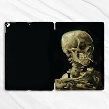 Van Gogh Skeleton Horror Case For iPad 10.2 Air 3 Pro 9.7 10.5 12.9 Mini 2 4 5