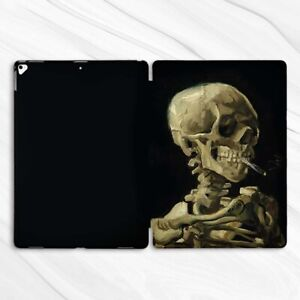 Van Gogh Skeleton Horror Case For iPad 10.2 Air 3 Pro 9.7 10.5 12.9 Mini 2 4 5