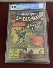 Amazing Spider-Man #9 CGC 3.0 1st Electro + 9.8 Panini Variant 2 🔥🔥 Books MCU
