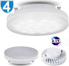 4x Bombilla LED 7W Luz Brillante tienda de techo GX53 blanco frío ajuste Living Sala De Cama