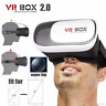 Professional Cardboard VR BOX 2 Virtual Reality 3D Glasses For Smart Phone