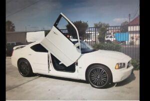 2005-2010 Dodge Charger NEWGEN LAMBO DOOR KIT
