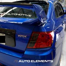 2011-2014 Subaru Impreza WRX/STI GVB Sedan | Indicator Smoked Overlays