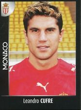 271 LEANDRO CUFRE AS.MONACO ARGENTINA AS.ROMA STICKER FOOT 2008 PANINI