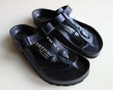new TATAMI BIRKENSTOCK Leather Sandals LUXOR/GIZEH EXQ Black US7-7.5 EU38 UK5 R