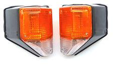For Toyota Land Cruiser FJ 75 1986-1990 turn signal blinker lights set pair New