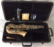 Selmer Bundy Alto Saxophone ~ Complete Kit ~ Mouthpiece Reeds Hard Case Strap