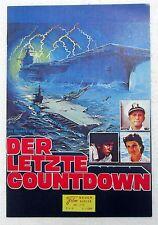 Der Letzte Countdown - K. Douglas - M. Sheen - Nr. 276 Neuer Film Kurier (j-9032