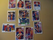FOOTBALL MESSI LIONEL STICKERS 12X mixed set Barcelona
