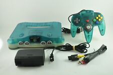 Nintendo 64 Console Aqua JPN - Nintendo 64 - N64 - JP