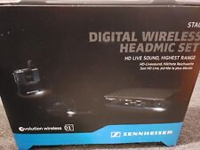 Sennheiser ew D1-ME3 Digital Wireless Headworn Mic Set with ME 3-II Microphone