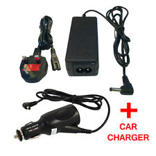 AC power 40W For HP COMPAQ Mini 110 210 700 CQ10 MAINS CABLE CORD + CAR CHARGER