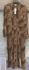 Bnwt Animal Print Midi Shirt Dress From Topshop Size 12