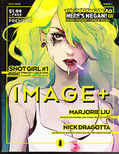 COMPLETE SET (16) IMAGE + WALKING DEAD HERE'S NEGAN MAGAZINES