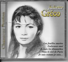CD COMPIL 12 TITRES--JULIETTE GRECO--CHANSONS PASSION--NEUF