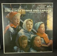 Robert Shaw – Christmas Hymns And Carols Volume 1 (LM 2139)