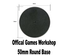 Wargames/ Warhammer 50mm Round Base (OFFICIAL Games Workshop)
