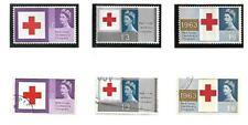 More details for gb-1963 ''red cross centenary congress''phosphor set of 3  sg 642/44p  mnh & vfu