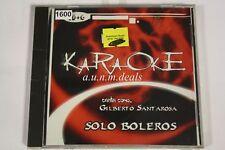 KaraOke Solo Boleros Gelberto Santa Arosa Music CD
