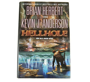 NEW Hellhole SIGNED Kevin J. Anderson First Edition Hardcover w/DJ Mint Cond.