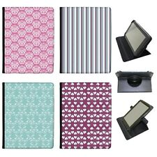 Azzumo Elegant Patterns Floral Stripes Dots PU Leather Case for Acer Tablet