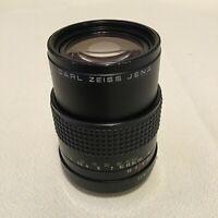 CARL ZEISS JENA 135mm F3.5 PRAKTICA B FIT LENS-WITH FAULT