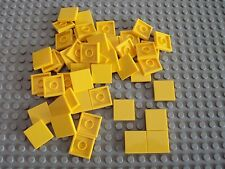 2x Lego Roof Stone Yellow 45 ° 3x4 Tile Set 6444 7242 4258405 4861