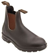 Mens Blundstone Pull On Boot BL 500 Stout Brown Leather