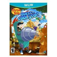 Phineas and Ferb: Quest for Cool Stuff (Nintendo Wii U, 2013) Brand New / Sealed