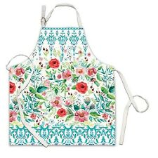 Michel Design Works Cotton Apron Wild Berry Blossom - NEW