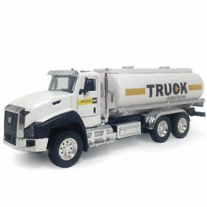1:50 Tanker Trailer Truck Model Car Diecast Kids Toy Vehicle Gift Pull Back