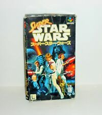 JEU SUPER FAMICOM SUPER STAR WARS VERSION JAP