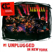 NIRVANA MTV UNPLUGGED NEW SEALED 180G VINYL LP & MP3 IN STOCK