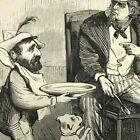 Ulysses S Grant and Uncle Sam cartoon 1874 Frank Leslie's Illustrated news