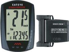 CatEye Bike Computer Strada Wireless Cc-rd 300w Black