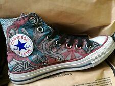 Limited Edition Converse Tattoo Snake Vintage Hi Trainers UK 4.5 EU 37 RRP £110