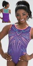 New listing NWT Plumtastic Fusion Simone Biles GK ™ gymnastics leotard free scrunchie CS