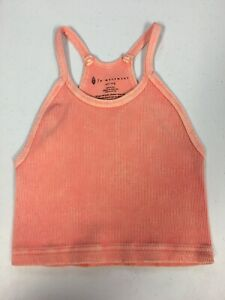 Free People - Movement Happiness Runs Crop Tank Top - Washed - XS/S-M/L