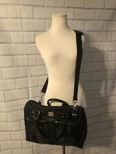 Franklin Covey Womens Business Laptop Tote Bag Black Travel Shoulder Large Purse