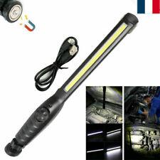 Portable COB+ LED Rechargeable Magnétique Torche Lampe de Travail Inspection