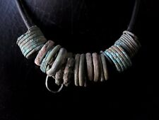 Rare Ancient Bronze Ring Pendant with Necklace Cheap Don't Miss