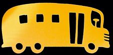 School Bus Yellow Cricut Die Cut Handmade With Card Stock