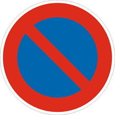 Eingeschänktes Halteverbot Verkehrsschild Verkehrszeichen Schilder Straße
