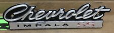 "1966 Chevrolet Impala ""SS""  grill emblem badge  66 chevy"