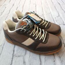 c46c3d80745f03 New Gravis Royale Leather Skate Shoes Mens Size 11 Choc Sand Skateboard Vtg