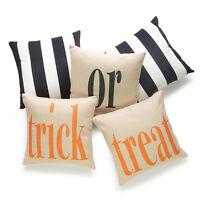Halloween Square Throw Pillow Case Home Sofa Decor Ornament Cushion Cover