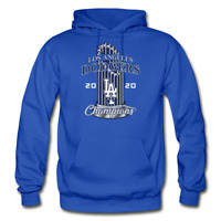 Los Angeles Dodgers 2020 World Series Champions Hoodie - Royal Blue SM-5XL